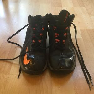 Black & Orange Nike Sneaker